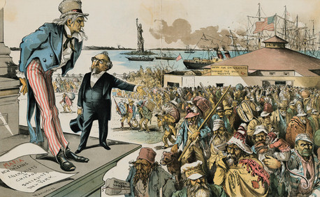 New Immigrants - The Gilded Age Urbanization