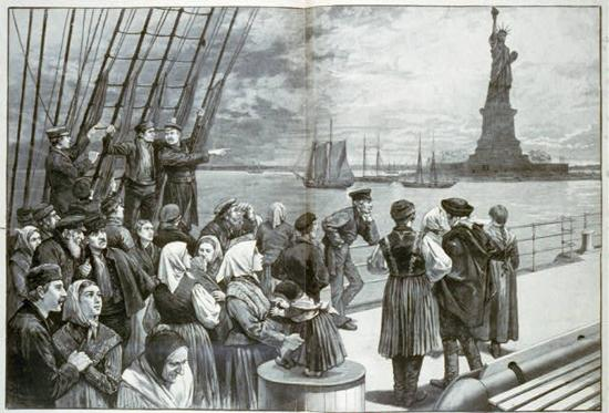 Old Immigrants - The Gilded Age Urbanization